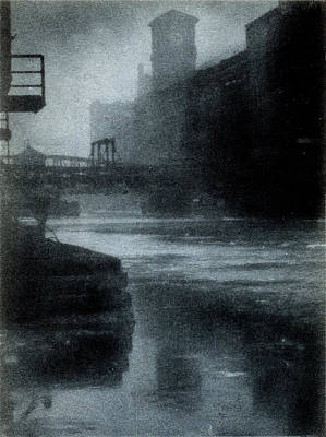 Painting - 1912 Chicago River by Historic Image