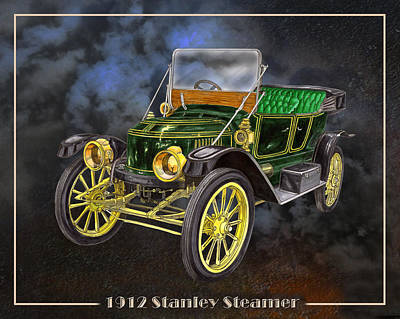 Painting - Stanley Steamer by Jack Pumphrey