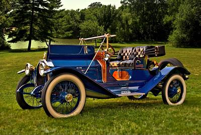 Photograph - 1913 Peerless Model 48 by Tim McCullough