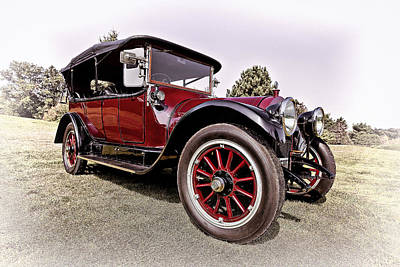 Car Photograph - 1913 Stevens Duryea Type C Touring by Marcia Colelli