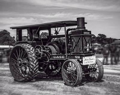 Keck Photograph - 1914 Case 20-40 Bw by F Leblanc