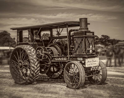 Keck Photograph - 1914 Case 20-40 Vintage by F Leblanc