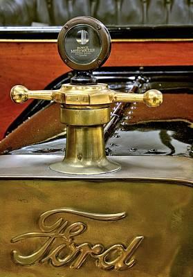 1914 Ford Model T Radiator Ornament Original