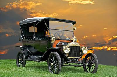 1914 Ford Model T Touring Car Art Print