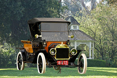 1914 Model T Pick Up Art Print by Dave Koontz