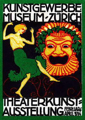 Switzerland Painting - 1914 Theater Arts Festival by Historic Image