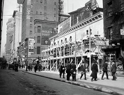 1915 1916 Haymarket Theater Becomes Art Print
