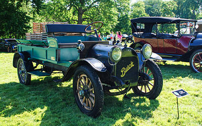 Photograph - 1915 Buick C-4 Truck by Grace Grogan