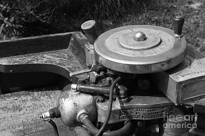 Photograph - 1915 Evinrude Outboard Motor by Neil Zimmerman