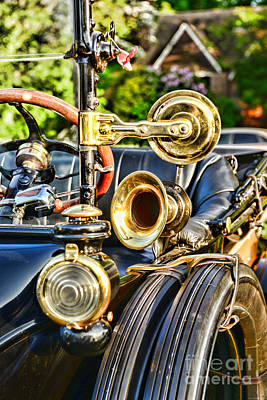 Antique Automobiles Photograph - 1915 Ford All That Brass by Paul Ward