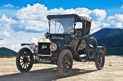 1915 Ford Model T Roadster II Art Print by Dave Koontz