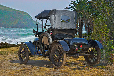 Lizzy Photograph - 1915 Ford Model T Roadster IIi by Dave Koontz