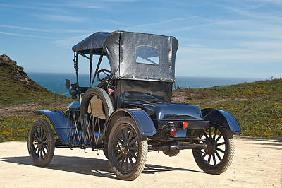 1915 Ford Model T Roadster Vi Art Print by Dave Koontz