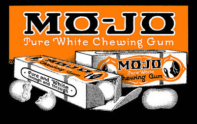 American Food Painting - 1915 Mo Jo Chewing Gum by Historic Image