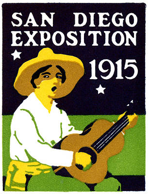 Painting - 1915 San Diego Expo Poster 2 by Historic Image