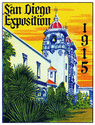 Painting - 1915 San Diego Exposition by Historic Image