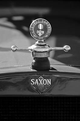 1915 Saxon Roadster Hood Ornament 2 Art Print by Jill Reger