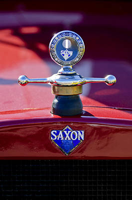 Hoodies Photograph - 1915 Saxon Roadster Hood Ornament by Jill Reger