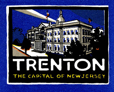Painting - 1915 Visit Trenton New Jersey by Historic Image