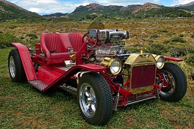 Photograph - 1917 Ford Custom  Hot Rod by Tim McCullough