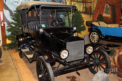 1917 Ford Model T Touring 5d25581 Art Print