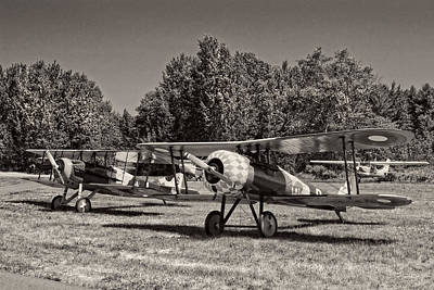 Photograph - 1917 Nieuport 28c.1 Classic Biplane by Keith Webber Jr