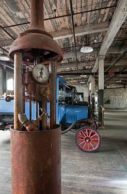 Model T Photograph - 1918 Gasoline Pump by Jim West