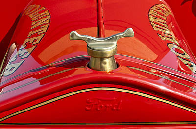 1919 Ford Volunteer Fire Truck Art Print by Jill Reger