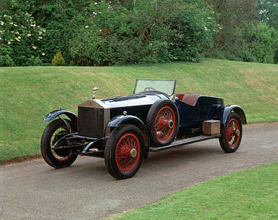 Historic Car Photograph - 1919 Rolls Royce 4050 Hp Silver Ghost by Panoramic Images