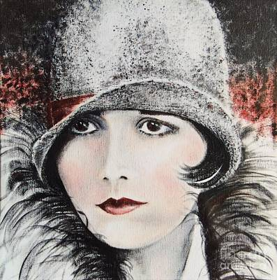 Alluring Painting - Louise Brooks by Barbara Chase