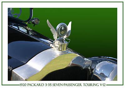 Photograph - 1920 Packard 3-35 Mascot by Jack Pumphrey