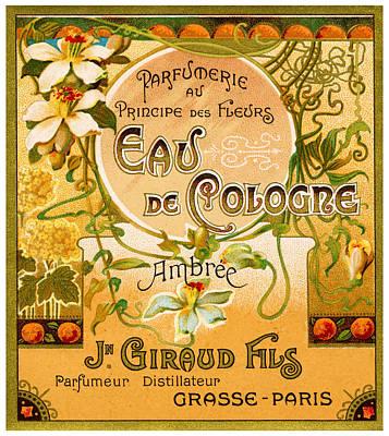 Painting - 1920 Principe Des Fleurs Perfume by Historic Image