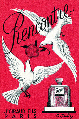 Painting - 1920 Rencontre Perfume by Historic Image