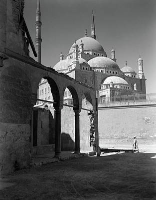 African Resort Photograph - 1920s 1930s Cairo Egypt Architectural by Vintage Images