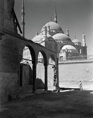 1920s 1930s Cairo Egypt Architectural Art Print