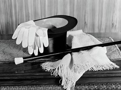 1920s 1930s Mans Formal Evening Wear Art Print