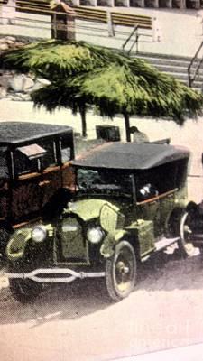1920's Automobiles Art Print