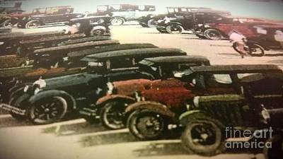 1920's Autos Art Print