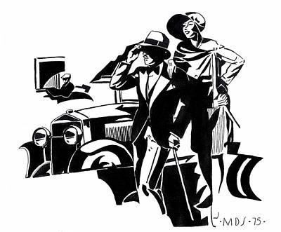 classic car drawings drawings fine art america Yellow 57 Chevy classic car drawings drawing 1920s deco car by mel thompson