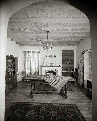 1920s Interior Mexican Spanish Style Art Print