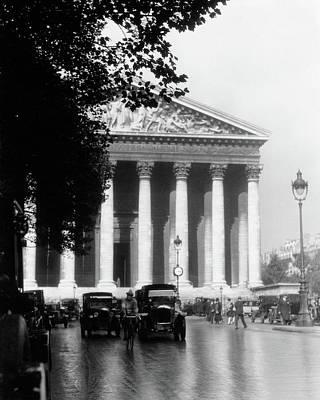 1920s La Madeleine Paris France Art Print