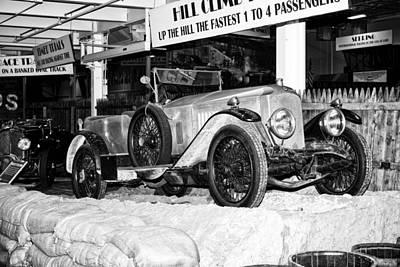 1921 Vauxhall 30/98e Art Print by Boris Mordukhayev