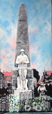 Painting - 1921 War Memorial by Michelle Deyna-Hayward