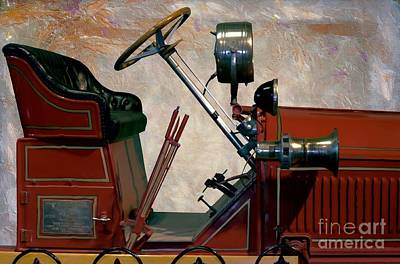 Photograph - 1922 American-lafrance Fire Truck  by Liane Wright
