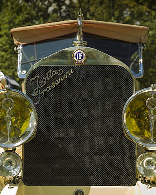 Photograph - 1922 Isotta-fraschini Tipo 8 Torpedo By Sala by Jack R Perry