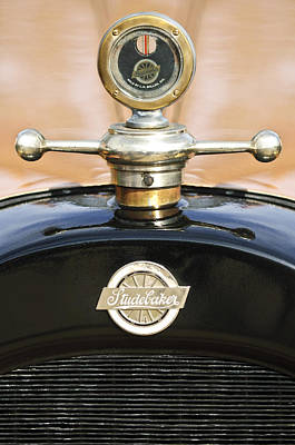 1922 Photograph - 1922 Studebaker Touring Hood Ornament by Jill Reger
