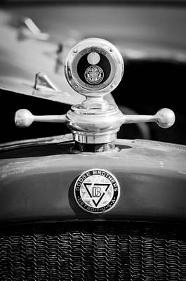 1923 Dodge Brothers Motometer - Hood Ornament - Emblem Art Print