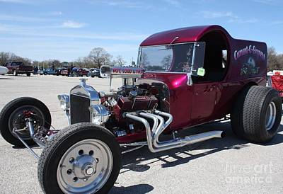 Photograph - 1923 Ford C-cab Muscle Car by John Telfer