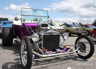 1923 Ford Model T Convertible Roadster Art Print