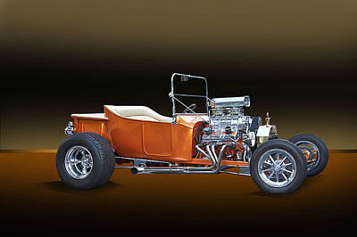 1923 Ford Model T Roadster Art Print by Dave Koontz